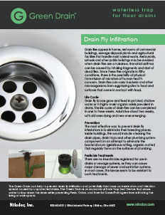Green Drain Drain Fly Prevention