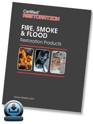 Fire, Smoke, & Flood Restoration Products