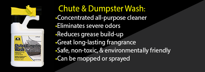 Chute and Dumpster Wash
