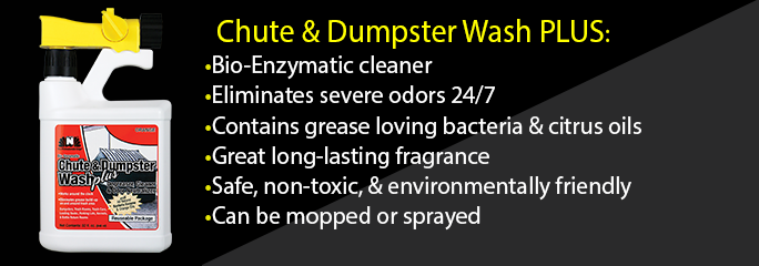 Chute and Dumpster Wash Plus