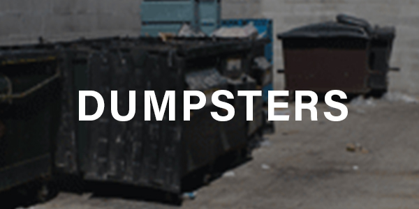 Dumpster Cleaning and Deodorizing