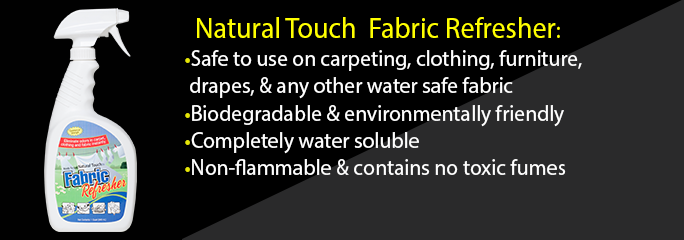 Natural Touch Fabric Refresher