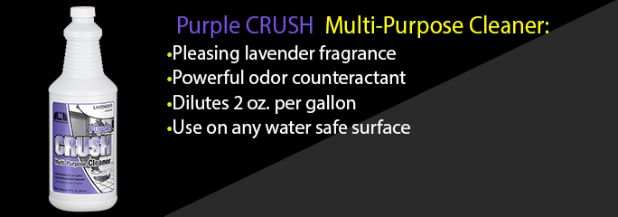 Purple CRUSH Multi-Purpose Cleaner Lavender