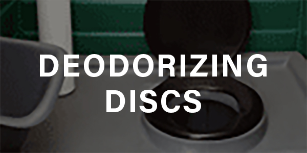 Deodorizing Discs for Portable Sanitation Odor Control