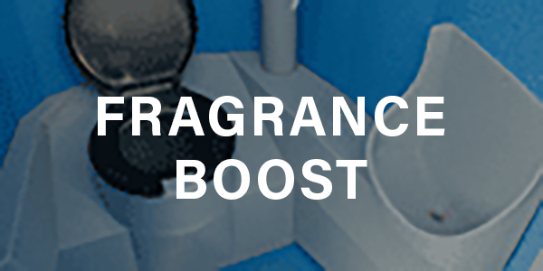 Fragrance Boost for Portable Sanitation