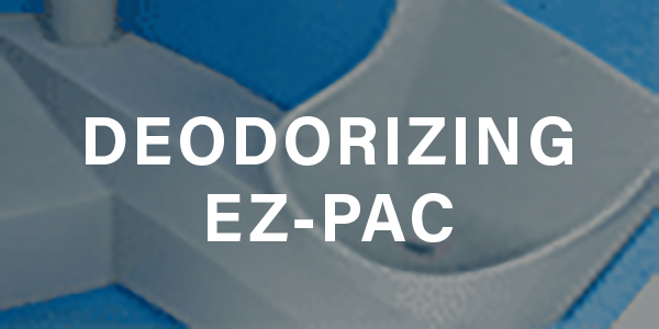 Deodorizing EZ-Pac for Easy Porta Potty Odor Control