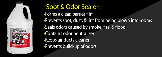 Soot and Odor Sealer