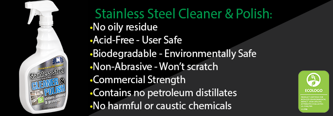 Structured by Nature Stainless Steel Cleaner and Polish