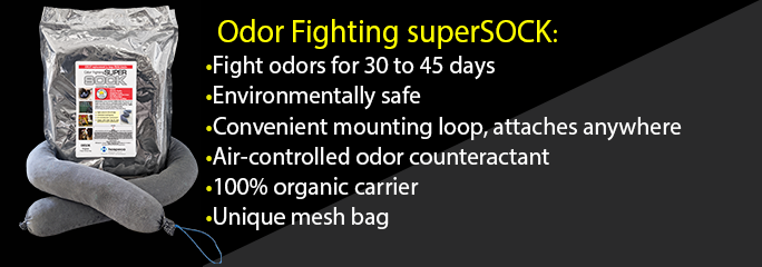 Industrial Strength Deodorizing Supersock