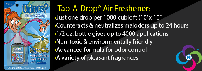 Tap-A-Drop Air Freshener (Nested Carton)