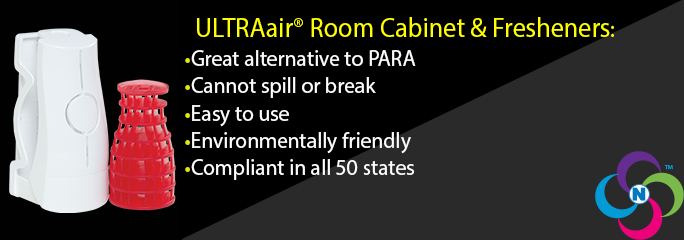 ULTRAair Room Cabinet and Fresheners