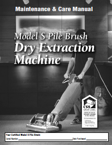 Pile Brush Maintenance and Care Manual