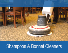 Shampoos and Bonnet Cleaner