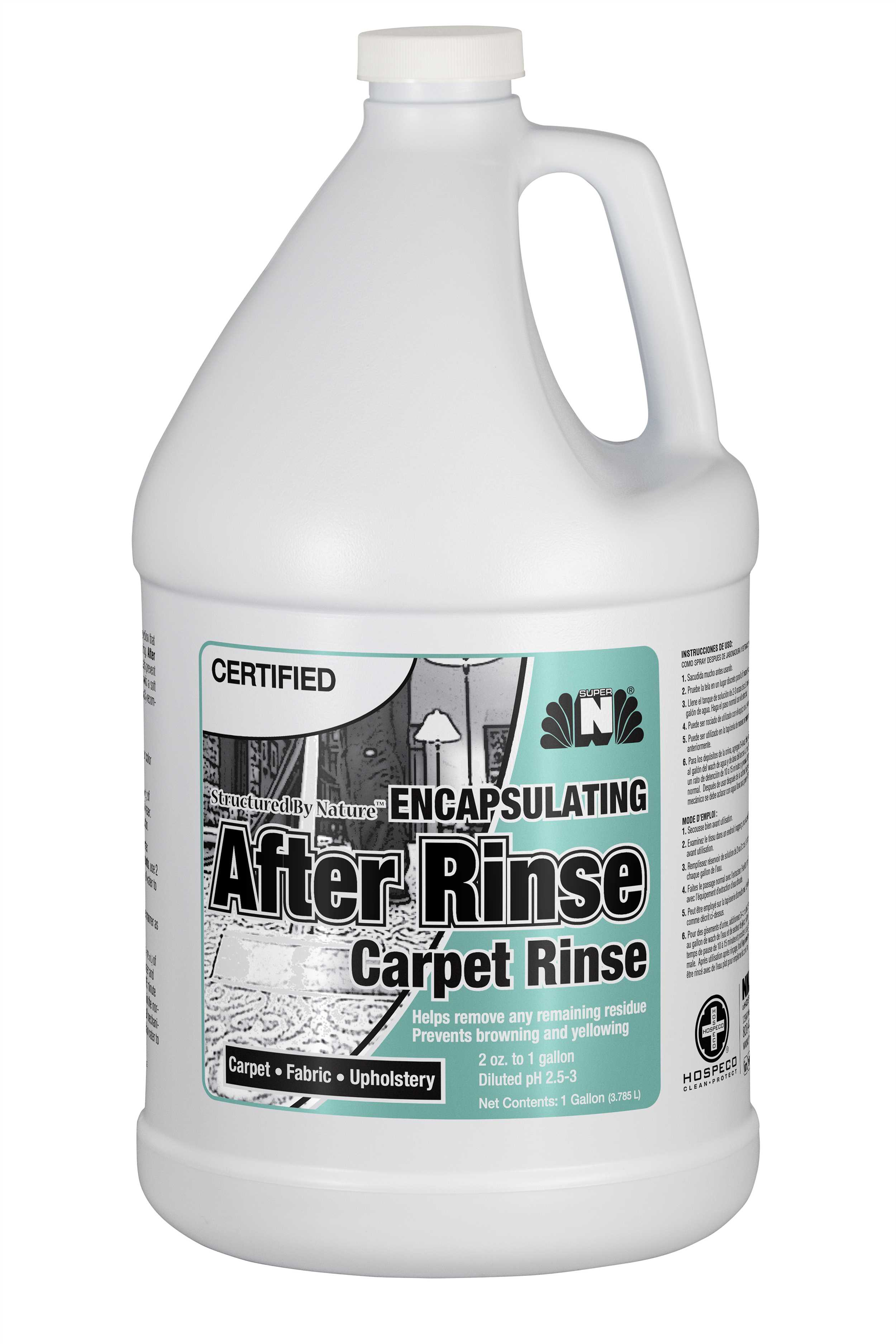 Encapsulating Certi-Rinse After Rinse