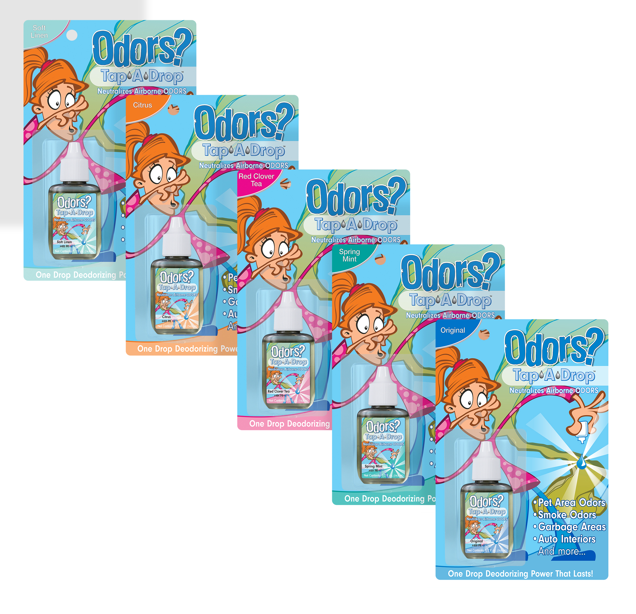 Tap-A-Drop Air Freshener (Rack Cards)